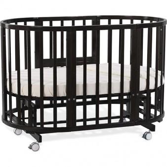 Детская кроватка Nuovita Nido Magia 5 в 1 Wenge с маятником