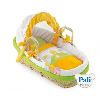 Детская колыбель-переноска Pali Moses Basket  Trottolino