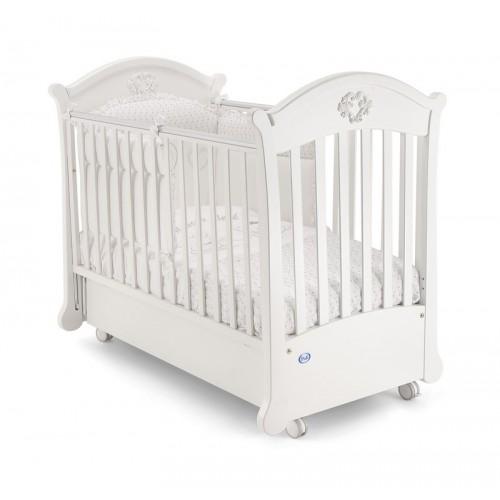 Детская кроватка-маятник Pali Angelica с матрасом
