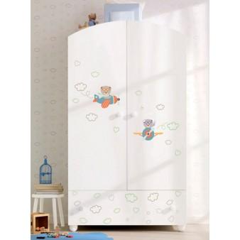 Шкаф для детской комнаты Pali Aviatore