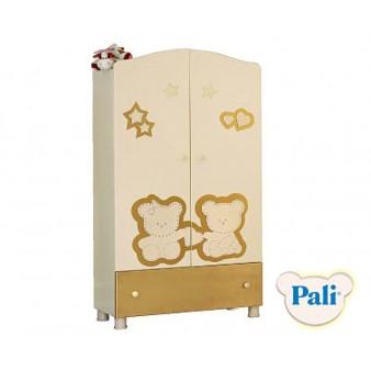 Шкаф для детской комнаты Pali Prestige magnolia gold