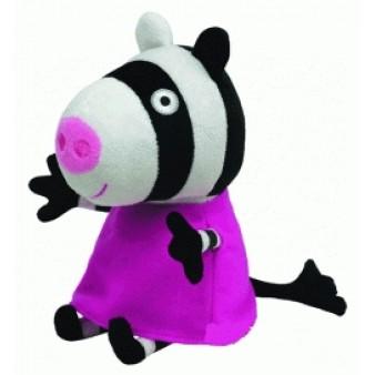 Мягкая игрушка Peppa Pig «Зебра Зои»
