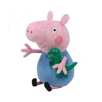 Мягкая игрушка Peppa Pig «Джордж с динозавром» 30 см