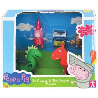 Игровой набор Peppa Pig «Джордж и дракон»