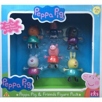 Игровой набор Peppa Pig «Пеппа и друзья»