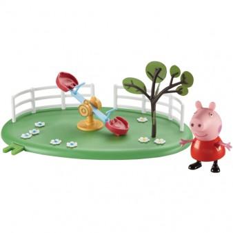 Игровой набор Peppa Pig «Игровая площадка: качели - качалка Пеппы»