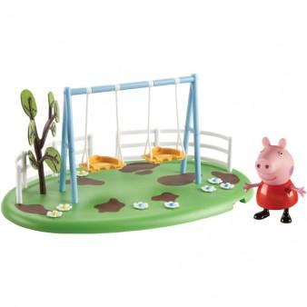 Игровой набор Peppa Pig «Игровая площадка: качели Пеппы»