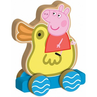 Игровой набор Peppa Pig «Каталка Пеппа на уточке»