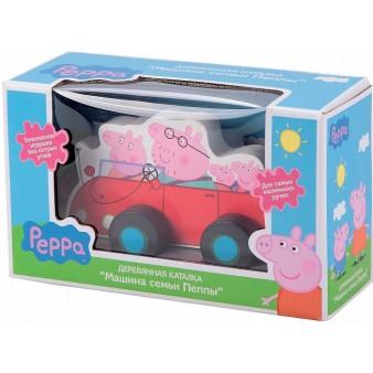 Игровой набор Peppa Pig «Каталка Машина семьи Пеппы»