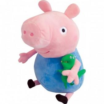 Мягкая игрушка Peppa Pig «Джордж с динозавром» 40 см