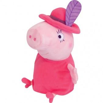 Мягкая игрушка Peppa Pig «Мама Свинка в шляпе» 30см