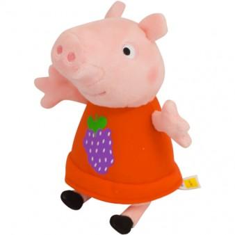 Мягкая игрушка Peppa Pig «Пеппа с виноградом»