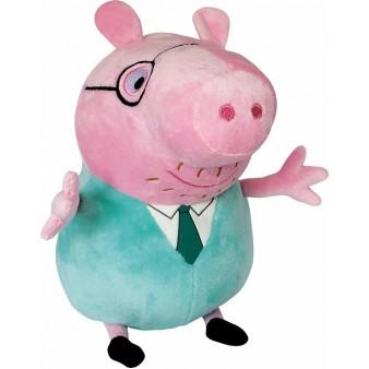 Мягкая игрушка Peppa Pig «Папа Свин в галстуке»