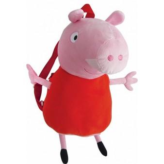 Мягкая игрушка Свинка Пеппа-Peppa Pig «Пеппа-рюкзак»