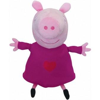 Мягкая игрушка  PeppaPig «Свинка Пеппа с сердечком»