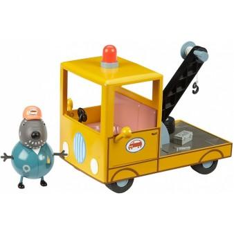 Игровой набор Peppa Pig «Машина Погрузчик с фигурками»
