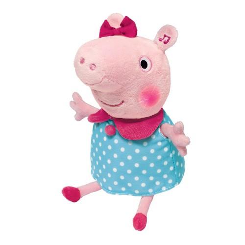 Мягкая интерактивная игрушка Peppa Pig «Поющая Пеппа» со звуком 30см