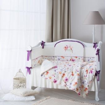 Комплект детского постельного белья Perina Акварель 6 предметов