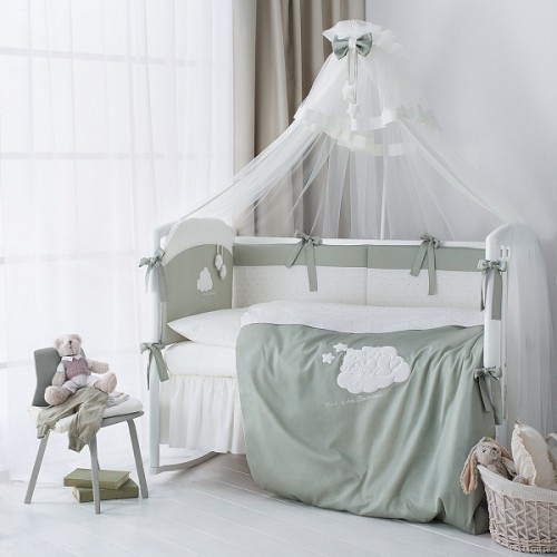 Комплект детского постельного белья Perina Бамбино 7 предметов