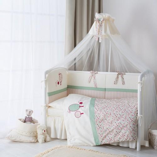 Комплект детского постельного белья Perina Клюковка 6 предметов