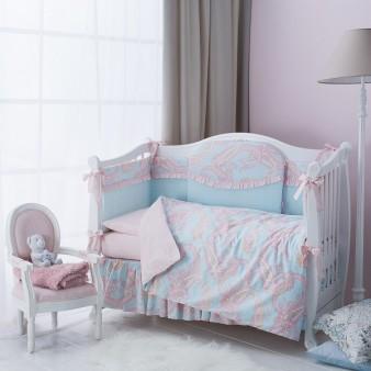 Комплект детского постельного белья Perina Шантель 6 предметов