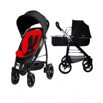 Детская коляска для новорожденного Phil and teds smart v.2 2 в 1