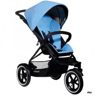 Детская коляска для новорожденного Phil and Teds Navigator, 2 в 1