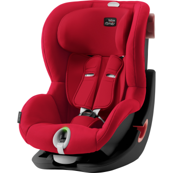 Автокресло Britax Romer King II LS Black Series 9-18 кг, Германия