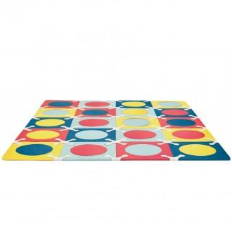Игровой детский коврик-пазл Skip*Hop Playspot Multi Mix, США