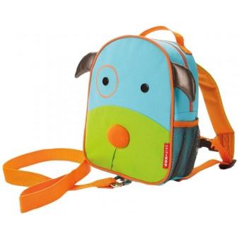 Детский рюкзак с поводком Skip Hop Zoo Let DOG