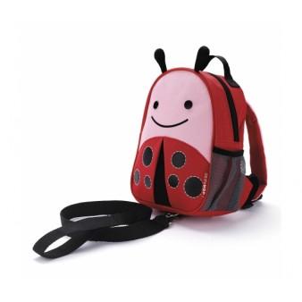 Детский рюкзак с поводком Skip Hop Zoo Let LADYBUG