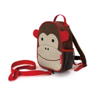 Детский рюкзак с поводком Skip Hop Zoo Let MONKEY