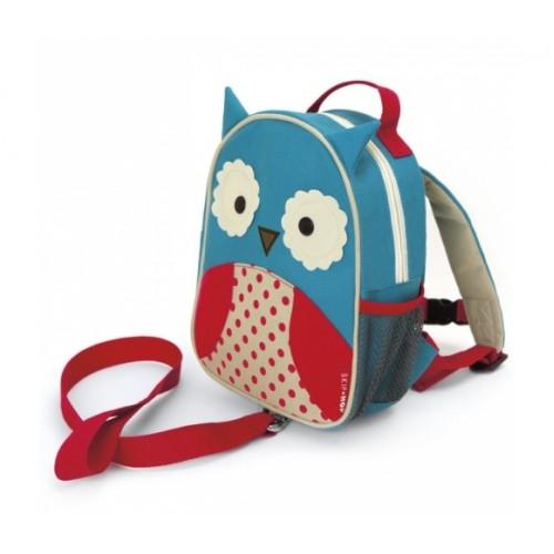 Детский рюкзак с поводком Skip Hop Zoo Let OWL