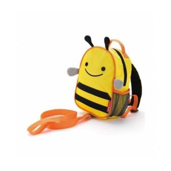 Детский рюкзак с поводком Skip Hop Zoo Let BEE