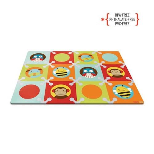 Игровой детский коврик-пазл Skip*Hop Zoo Playspot, США