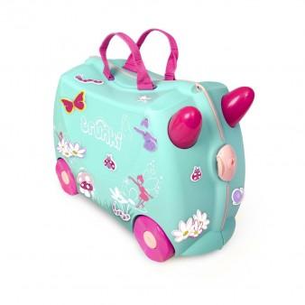 Детский дорожный чемодан на колесиках Trunki Фея Флора
