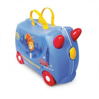 Детский дорожный чемодан на колесиках Trunki Мишка Paddington