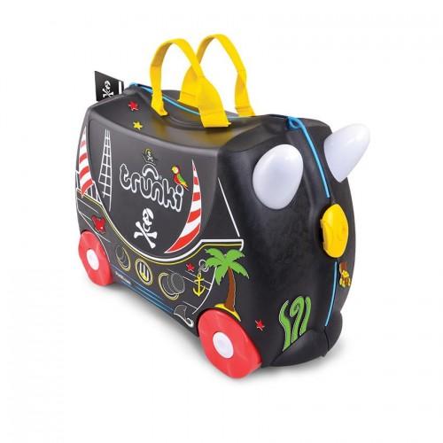Детский дорожный чемодан на колесиках Trunki Педро Пират