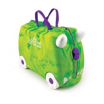 Детский дорожный чемодан Trunkisaurus Rex