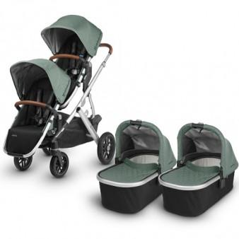 Детская коляска UPPAbaby Vista для двойни 2 в 1