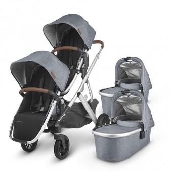 Детская коляска UPPAbaby Vista V2 для двойни 2 в 1