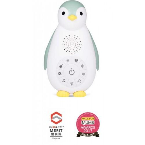 Беспроводная колонка (проигрыватель/ночник) Zazu Zoe пингвинёнок Зои