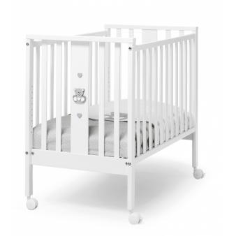 Детская приставная кроватка Erbesi Mini Charly с матрасом