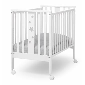 Детская приставная кроватка Erbesi Mini Stelline с матрасом