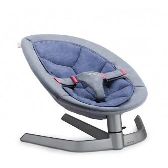 Кресло-шезлонг Nuna Leaf + капюшон с москитной сеткой, Нидерланды