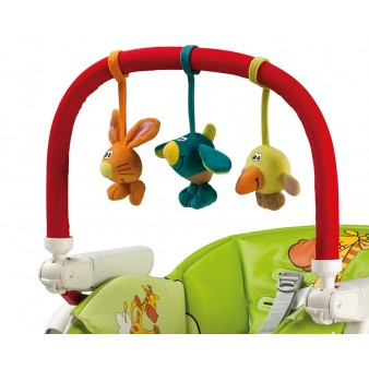Дуга с игрушками для стульчиков Peg-Perego Play Bar