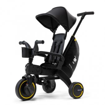 Складной трехколесный велосипед Doona Liki Trike Midnight Edition
