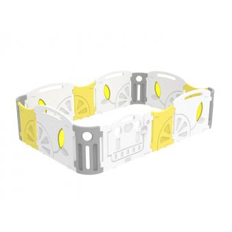 Детский манеж iFam Lemon IF-112-1-LBR-W3