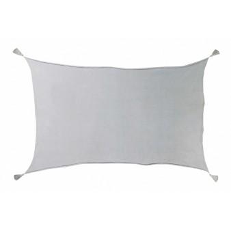 Плед с помпонами Lorena Canals серый градиент 120х180