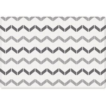Портативный двусторонний коврик Parklon Pure Soft «Арт-деко/Зоопарк» (190x130 см)